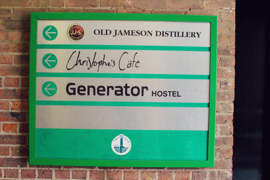 제임슨 위스키 증류소 인근에 위치한 제너레이터 호스텔