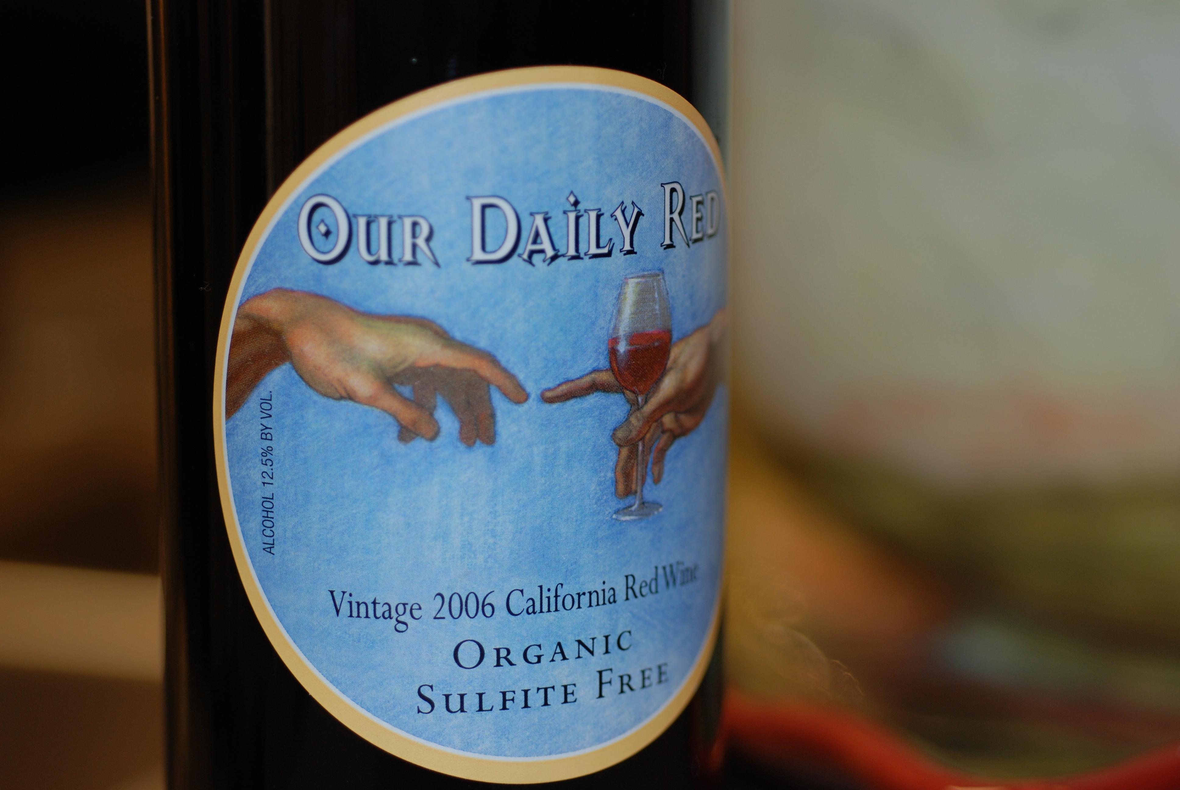 아황산염을 첨가하지 않은 'Sulfite Free' 와인