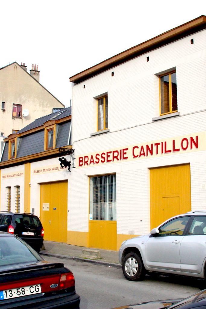 [사진 001] 칸티용 양조장 Brasserie Cantillon의 입구.