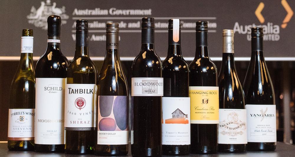 그림 2: 호주 와인 그랜드 테이스팅 워크숍 테이스팅 와인